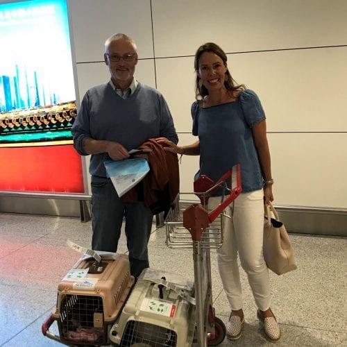 Naomi and Cinnabun to Hamburg, Germany